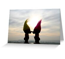 trolls in love Greeting Card