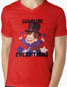 Legalize Everything! Mens V-Neck T-Shirt