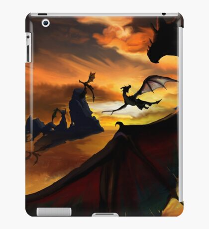 Dragon Planes iPad Case/Skin