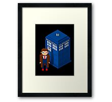 Pixel Who Framed Print