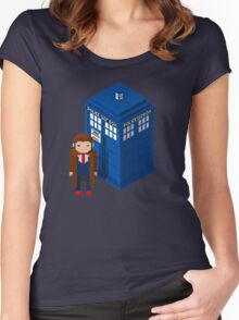 Pixel Who Women's Fitted Scoop T-Shirt