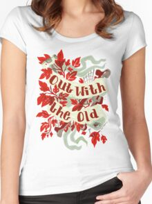 In With the new Women's Fitted Scoop T-Shirt