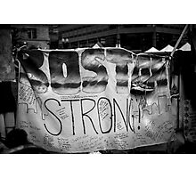 Boston Strong Photographic Print