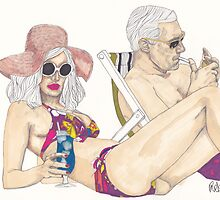 Mad Men - Beach by Paul  Nelson-Esch