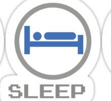 Eat Sleep Dig Sticker