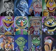 Updated: Muppet/Doctor Who Mash-up. Including the War Doctor! by lissyleem