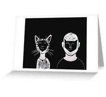 Gus and Max Greeting Card