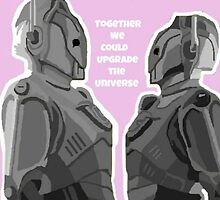 Together we could upgrade the Universe  by Thatter13ify