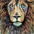 Rainbow Lion by BParsh