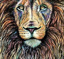Rainbow Lion by BParsh