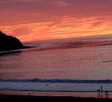 Another beautiful slide into Sunet in Redondo Beach by Matthew Nickle