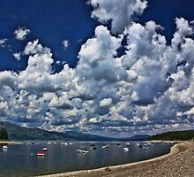 Cloud Parade Over Jackson Lake by Brenton Cooper