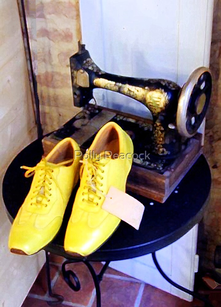Yellow Shoes by Polly Peacock