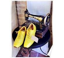 Yellow Shoes Poster