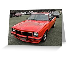 Torana LX 308 V8 SS Hatch Greeting Card