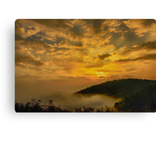 Morning Explosion Canvas Print