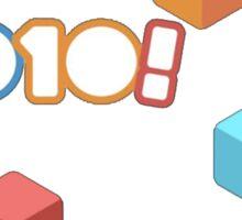 1010! The Addictive Puzzle Game Sticker