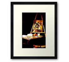 An Art Easel Framed Print