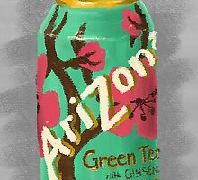 Arizona Green Tea by Nicole Mule'