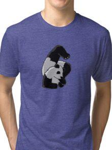 Contortionist Panda Tri-blend T-Shirt