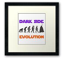 Dark Side Evolution Framed Print