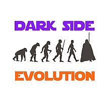 Dark Side Evolution Photographic Print