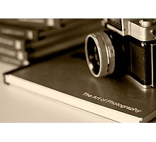 The-Art-of-Photography-Vintage Photographic Print