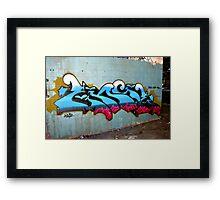 Classic Graffiti - Framed Print