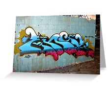 Classic Graffiti - Greeting Card