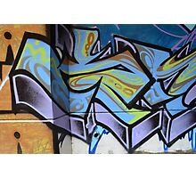 Graffiti close up - Photographic Print