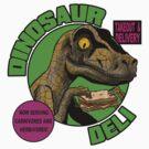 Dinosaur Deli by clockworkmonkey