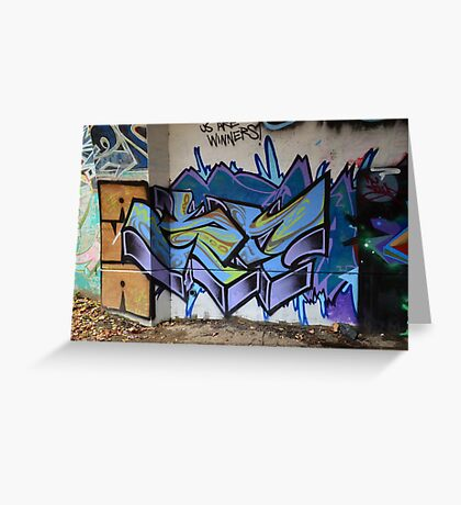 Classic Graffiti - Greeting Card