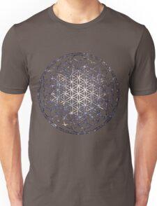 Flower Of Life - Sacred Geometry Star Cluster Unisex T-Shirt