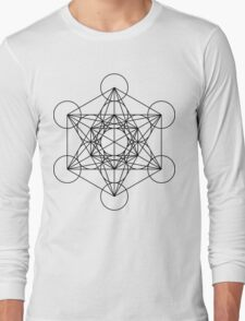 Metatron's Cube - Sacred Geometry Long Sleeve T-Shirt