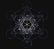 Metatron's Cube Star Clucter - Sacred Geometry by SirDouglasFresh