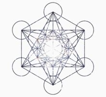 Metatron's Cube Star Clucter - Sacred Geometry Kids Clothes