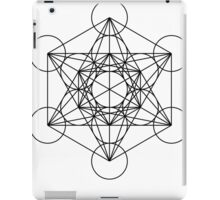 Metatron's Cube Star Clucter - Sacred Geometry iPad Case/Skin