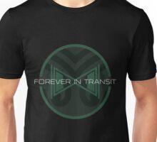 Forever in Transit Hourglass Logo Unisex T-Shirt