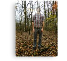 Don't Lose Yourself To The World Canvas Print