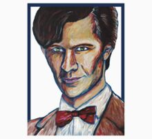 Matt Smith Doctor Who Van Gogh Kids Tee