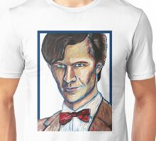 Matt Smith Doctor Who Van Gogh Unisex T-Shirt