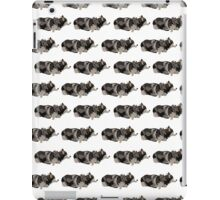 Peach Husky White Pattern iPad Case/Skin
