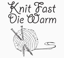 Knit Fast, Die Warm Kids Clothes