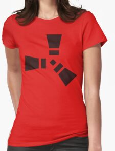 Rust Womens Fitted T-Shirt