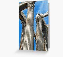 Temple of Zeus Greeting Card