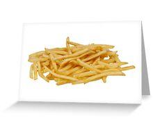 Fries  Greeting Card