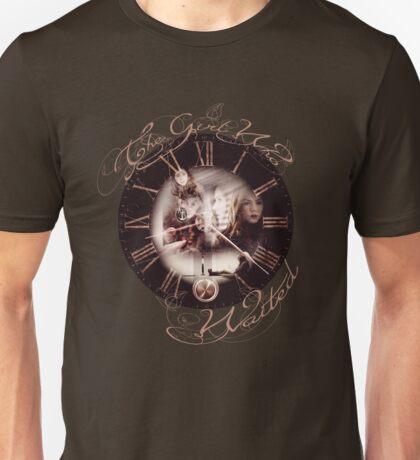 The Girl Who Waited Clock Unisex T-Shirt