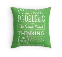 Genius Advise Throw Pillow