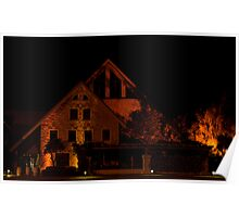 Winery by Night Poster