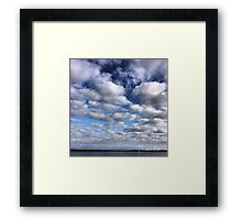 Cotton Clouds Framed Print
